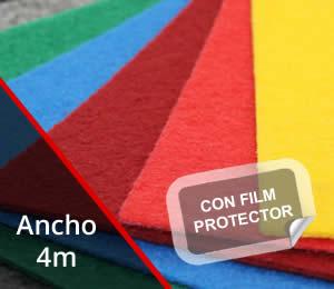 Moqueta eventos con film 4,04m de ancho
